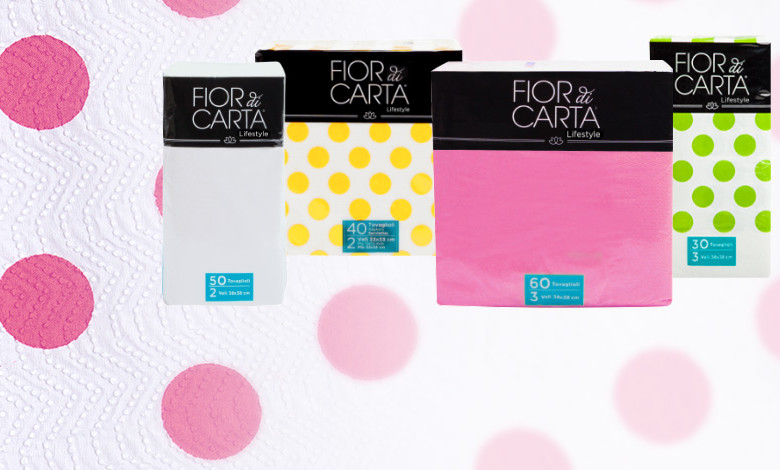 Colourful, fun and resistant, ideal for everyday use and a must-have for parties.